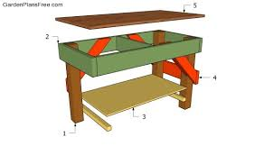 workbench plans free free garden plans how to build garden