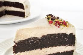 schokoladenkuchen mit vanille creme vegan glutenfrei ohne