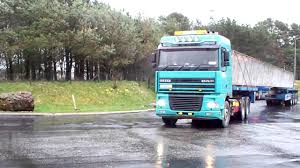 Whittens Heavy Haulage Ireland & 30m+ Concrete Bridge Beams - YouTube