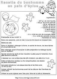 recette de cuisine pour les enfants coloriage educatif fiches de cuisine à colorier