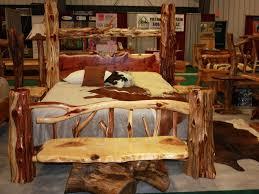 Bedroom Log Bedroom Furniture Unique Log Bed Cedar Log Bed Log