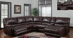 Buchannan Faux Leather Corner Sectional Sofa Chestnut by Sofa Leather Sectional Sofas With Chaise Riveting Loukas Leather