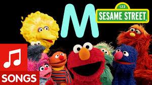 Sesame Street Letter M Letter of the Day