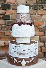 Rustic Chic Wedding Cake