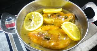 cuisiner les filets de poulet filets de poulet sauce au citron et aux câpres recette par mimm