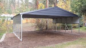 Carports : Metal Shed Kits All Steel Carports Carport Awnings ... Carports Carport Awnings Kit Metal How To Build Used For Sale Awning Decks Patio Garage Kits Car Ports Retractable Canopy Rv Garages Lowes Prices Temporary With Sides Shop Ideas Outdoor Alinum 2 8x12 Double Top Flat Steel