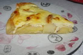 recette tarte aux pomme aux fromage blanc 750g