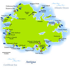 Curtain Bluff Antigua Map by Antigua Map Antigua And Barbuda Is The North Easternmost Country