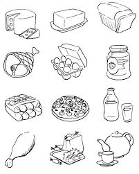 Ideas Of Food Coloring Sheets Print Also Example