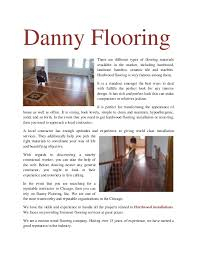 Danny Flooring There Are Different Types Of Materials Available In The Market Including Hardwood