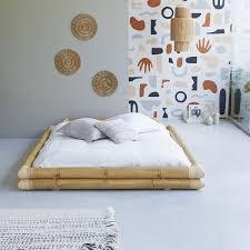 bamboo bed 160x200 balyss bed sale at tikamoon futon bed