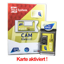 ➀ Tivusat HD CI Modul Mit ▷Tivusat Karte HD 4K Aktiviert ◁ RAI