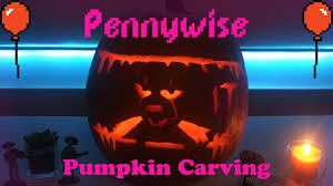 Clown Pumpkin Template by Pennywise Pumpkin Carving Tutorial Youtube
