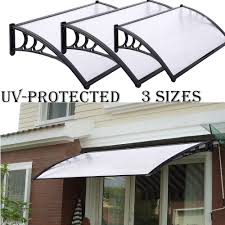 NEW DOOR CANOPY AWNING SHELTER FRONT AND BACK DOOR AWNING ... Awning Wikipedia Storefront Awnings Commercial Express Yourself Get Found A Hoffman Co Canopies Chicago Il Merrville Idm Worldwide Classic 6ft In A Box Reviews Wayfair Aleko Window Door Canopy 4foot Decator 4x2 Feet Official 25 Hurt Collapse Of Concrete Awning At Nc High And Portable Signs Transportation Seattlegov 8 Ft Manually Retractable 265