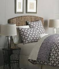 for the guest bedroom seagrass bed headboard pottery barn i