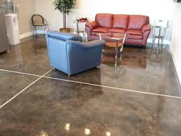 Rust Oleum Decorative Concrete Coating Applicator by Decoratively Stained Concrete Floor With Multi Tone Variegated