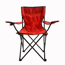 Camping Chair With Footrest Australia by Oxford Camping Chair 48x48x87cm Red Ace