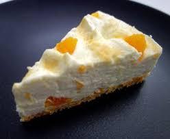 philadelphia torte mit mandarinen und löffelbiskuits