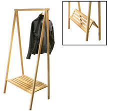 portable folding clothes rack Wooden Clothes Rack And Different