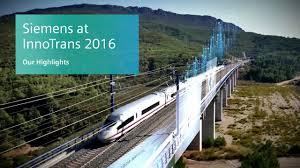 Siemens Dresser Rand Presentation by Siemens At Innotrans 2016 Fairs And Events Siemens Global Website