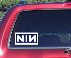 Nine Inch Nails Band Music Decal Sticker Car Truck Windows | Window ... Big Locally Hated Windshield Banner 6x44 Truck Decal Chevy Dodge Business Decals For Car Windows Rear Window Stickers Durable Graphics Oukasinfo Pittsburgh Steelersrear Decalgraphic Lets Print Big Ghibli Totoro Catbus Nekobus Funny Suv Wall Vinyl Legendary Whitetails Buck Walmartcom Amazoncom Vuscapes 747sza Deep Dark Black Beach Sunset 4 Ocean Graphic Van Ebay Best In Calgary Trucks Cars Adhesive Unique Prting Corp Triforce Wingcrest And Windows Sticker Ford Diamond Plate Gatorprints
