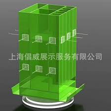 Acrylic Display Stand Plexiglass Rotating Products