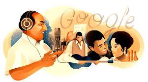 Google doodle celebrates legendary singer Mohammed Rafi s 93rd