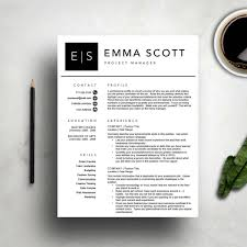 Resume Template Word Creative Cover Letter Reference Page