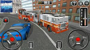 100 Fire Truck Games Free Driving School 911 Emergency Response 2 Steering Wheel