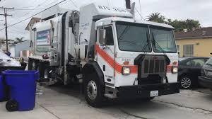 San Diego ESD Peterbilt 520 Amrep Automated Garbage Truck - YouTube