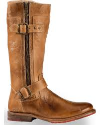 bed stu women s tan gogo lug strap boots round toe boot barn