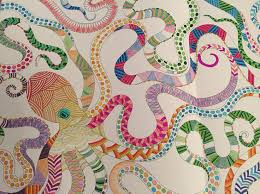Animal Kingdom Colouring Book Octopus Best Images About On