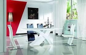 nolana esszimmertisch designertisch modern hochglanz