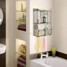 home supply badezimmer wand aufbewahrung skorb regal metalldraht organizer rack schwarz farbe buy bad lagerung korb bad regal bad veranstalter rack