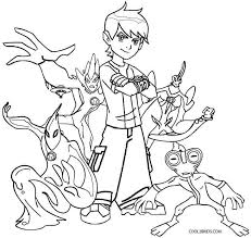 Projects Idea Of Ben 10 Coloring Pages Games Omniverse Free Printable