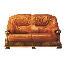 canape cuir rustique salons canapé cuir et bois rustiques