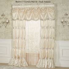 Plum And Bow Lace Curtains by Elegant Curtains Touch Of Class