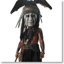 the lone ranger johnny depp as tonto knocker completed