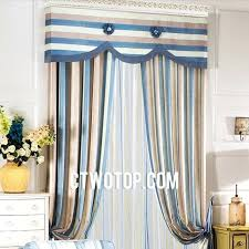 blue and brown sheer curtains cape curtains bandhini graphic