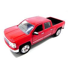 100 Chevy Silverado Toy Truck Amazoncom Jada 2014 Pickup 124 Scale