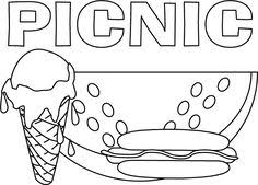 Ice Cream Coloring Pages 10 Preschool