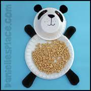 Panda Bear Paper Plate Craft From Daniellesplace
