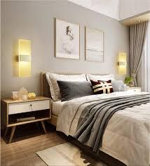 hotel schlafzimmer nachtwandleuchten led acryl wandleuchten