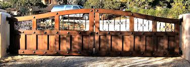 Gate Designs By Aaagate A Good Example Of Rustic Tuscan Architecture