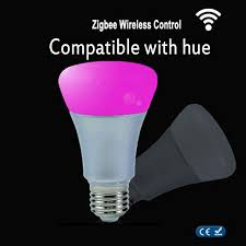 wholesale zigbee color l wifi or wireless remoter link e27 9w