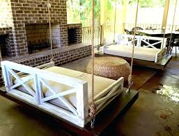 Rustic Daybed Porch Swing Swinging Bedroom Hanging And Landscape Ideas Dimension