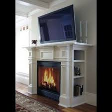 electric fireplace with bookshelves foter