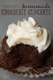 Heavenly Homemade Chocolate Cupcakes Made With Cocoa And Strong Hot Coffee Are The Most