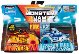 100 Monster Jam Toy Truck Videos Fire Ice Zombie El Toro Loco Exclusive 164 Diecast Car 2