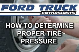 Ford F-150/F-250: How To Determine Proper Tire Pressure - YouTube Tire Pssure Monitoring System Car Tpms With 6 Pcs External Inflator Dial Gauge Air Compressor For Digital Psi Measurement Automotive Truck Contipssurecheck A New From Rhino Usa Heavy Duty 0100 Certified Meritorpsi Automatic Tire Inflation System Helps Fuel Economy Amazoncom Gauges Wheel Tools Gauge4 In 1 Portable Lcd Tyre 0200 U901 Auto Wireless Radio Tpms Valve Cap Pssure Is Important